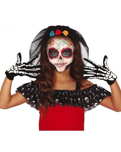 Magicoo Skelet handschoenen voor kinderen