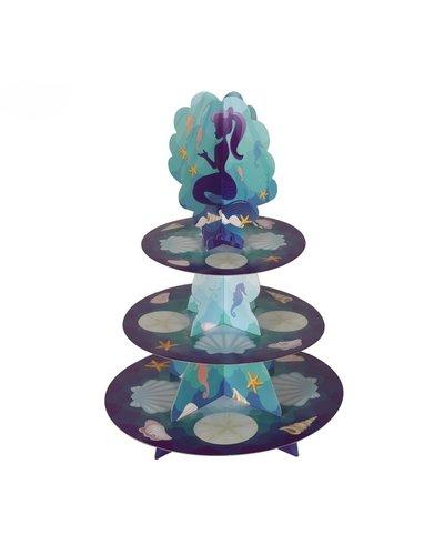 Magicoo Cupcake standaard zeemeermin