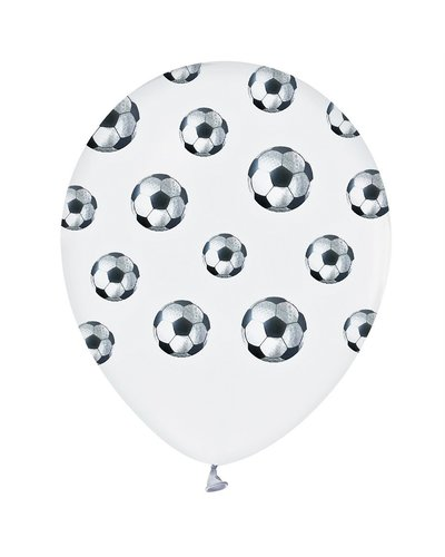 Magicoo 5 latex ballonnen voetbalfeest