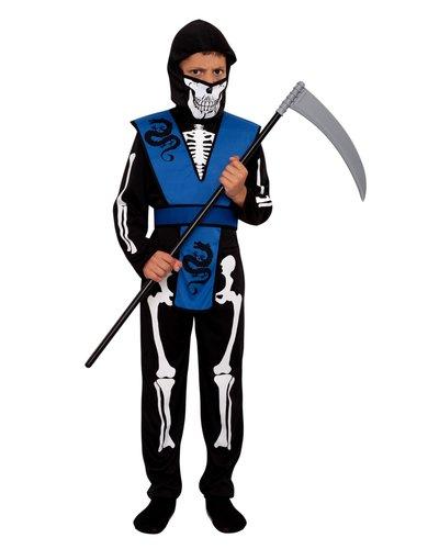 Magicoo Skelet ninja pak voor kinderen