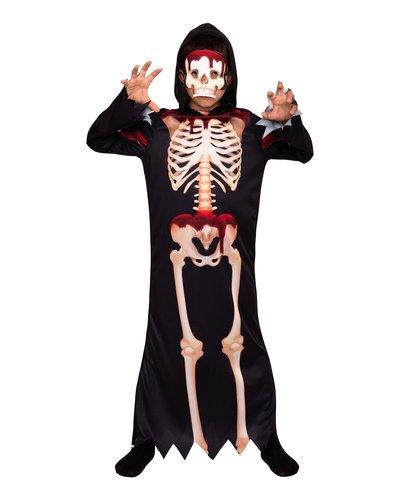 Magicoo Skelet pak voor kinderen met bloed