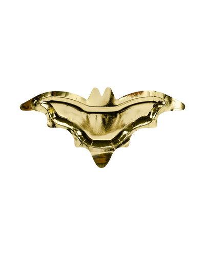 Magicoo Vleermuis borden goud - 6 stuks