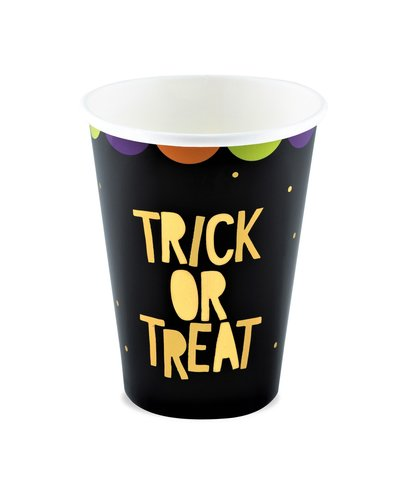 "Magicoo 6 Halloween bekers ""Trick or Treat"""