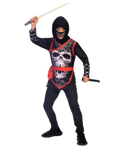 Magicoo Griezelig halloween ninja pak voor jongens