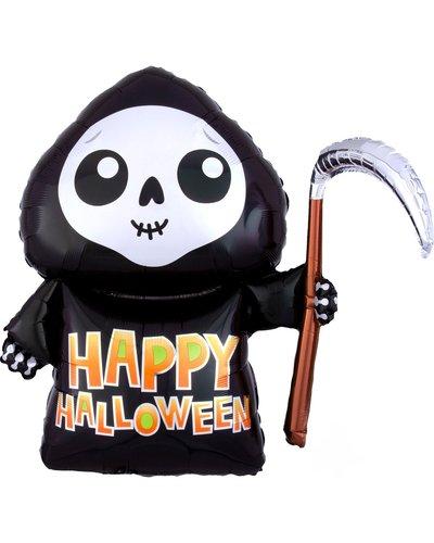Magicoo Vrolijke spook folieballon Halloween