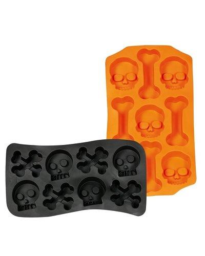 Magicoo Halloween siliconen ijsblokjesmallen 12 x 22 cm groot