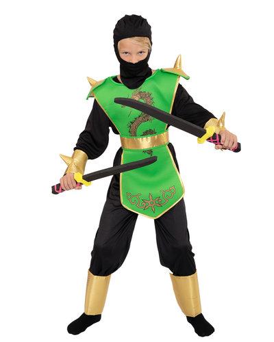 Magicoo Ninja kostuum kind groen