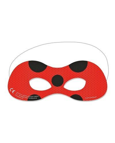 Elegante papieren masker Miraculous ladybug