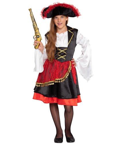 Magicoo Orientaals piratenpak voor meisjes