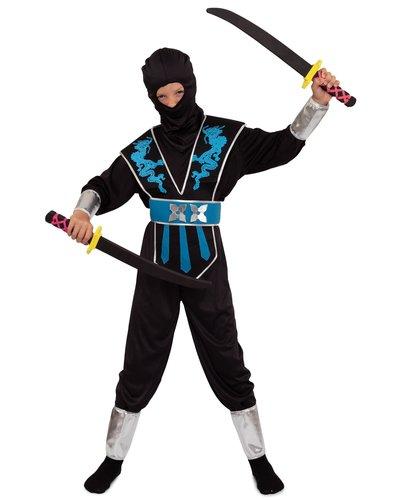 Magicoo ninja pak blauw-zilver kind
