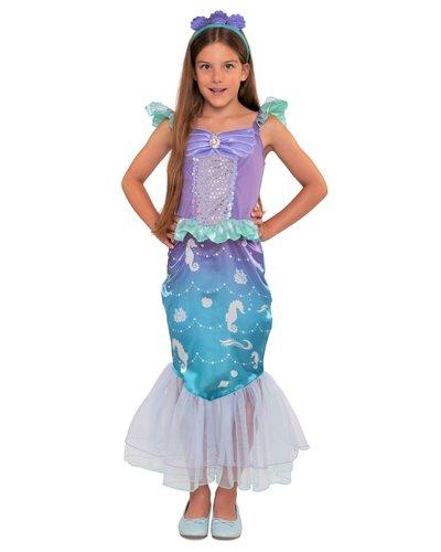 Magicoo zeemeermin jurk meisjes zeepaardje