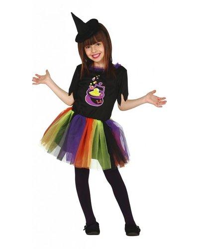 Magicoo Trendy heksenpak meisjes