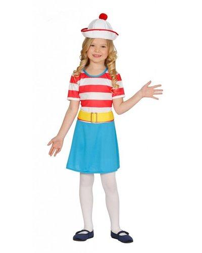 Magicoo Matrozen kostuum meisjes Matroos