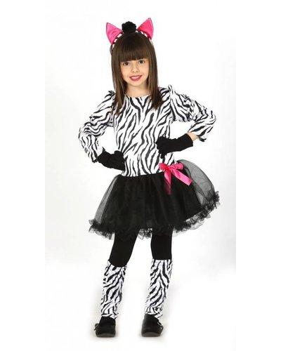 Magicoo Trendy zebra pak meisjes