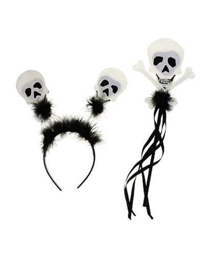 Magicoo Kinder halloween set met schedels voor meisjes