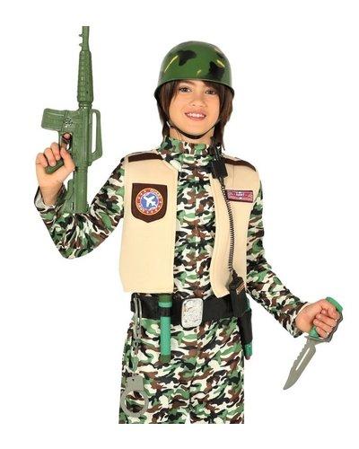 Magicoo Militaire Soldaat Set met Helm voor kinderen