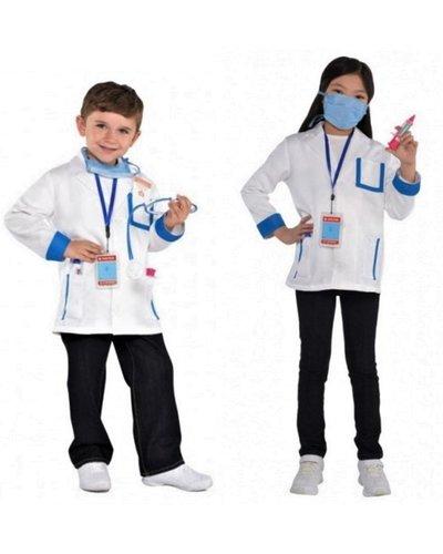 Amscan Dokter kostuum set voor jongens en meisjes
