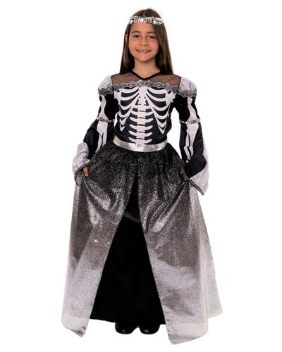 Magicoo Skelet prinsessen kostuum voor meisjes