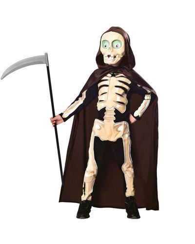 """Amscan Skelet pak """"Grim Reaper"""" voor kinderen"""