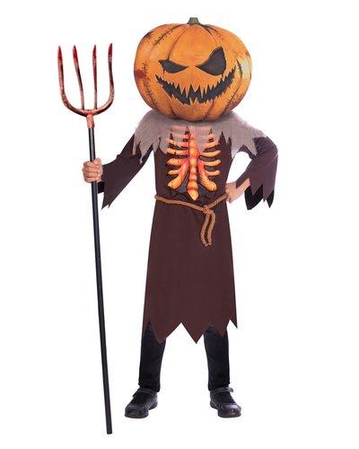 Amscan Pompoen skelet kostuum voor kinderen