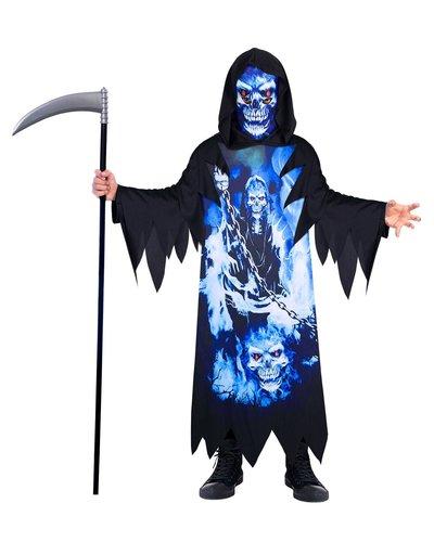 """Amscan Skelet pak  """"Neon Reaper"""" voor kinderen- gerecyceld"""