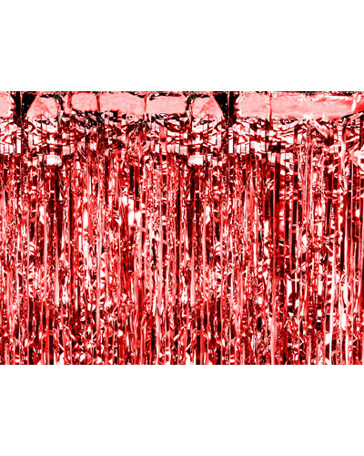 Magicoo Feestgordijn Rood 90 x 250 cm