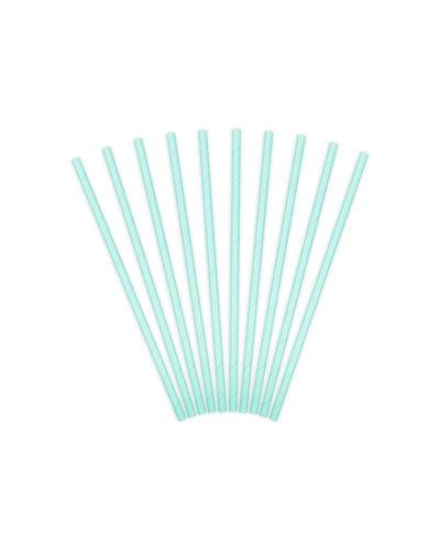 Magicoo 10 papieren rietjes turquoise