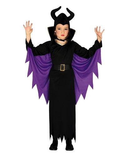 Magicoo Donkere fee kostuum voor kinderen