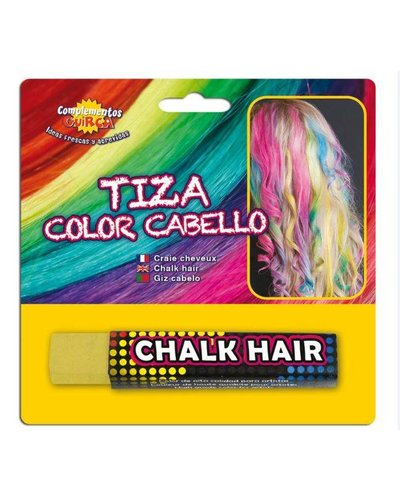 Magicoo Geel uitwasbaar haar kalk haarkrijt
