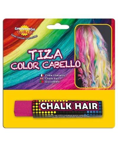 Magicoo Fuchsia uitwasbaar haar kalk haarkrijt