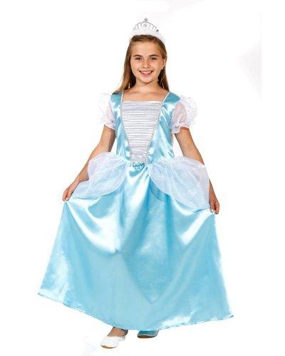 Magicoo Blauwe prinsessenjurk kind