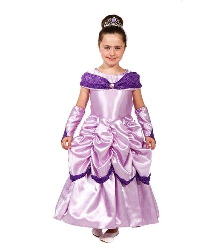 Magicoo Lange prinsessenjurk lila