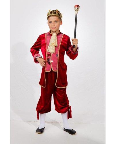 Magicoo Prins kostuum Koning  Deluxe kinderen voor jongens