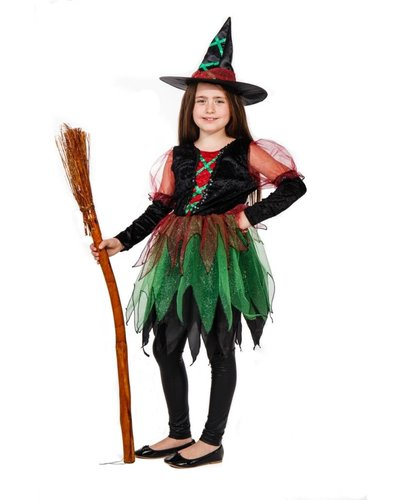 Magicoo Heksen en feeen jurk Colours