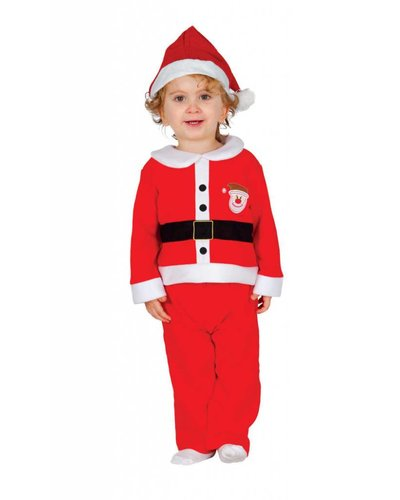 Magicoo Kerstman kostuum pak baby's en peuters