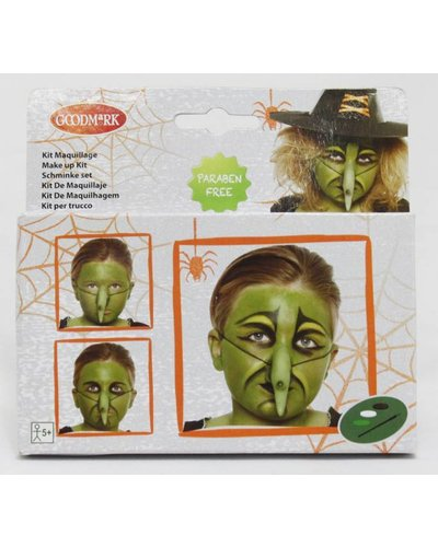 Magicoo Schminkset heks voor Halloween
