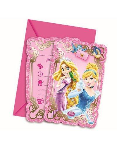 Magicoo Prinsessen party uitnodigingen