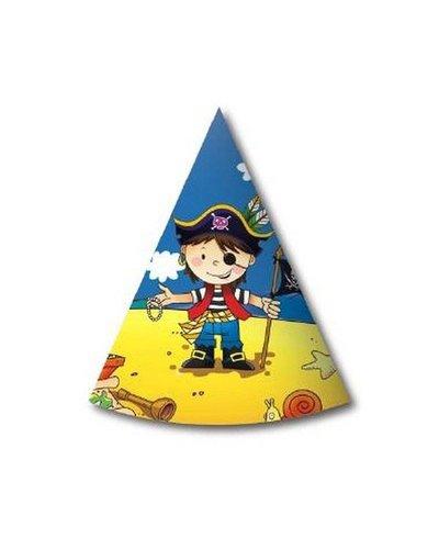 Magicoo Verjaardags hoedjes piraat