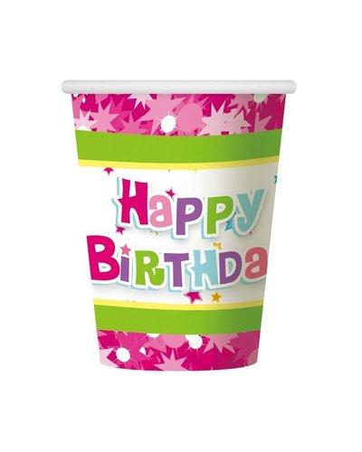 Magicoo Roze verjaardags bekers