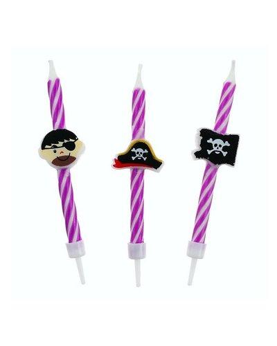 Magicoo Verjaardags kaarsjes piraat