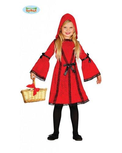 Magicoo Roodkapje kostuum kinderen