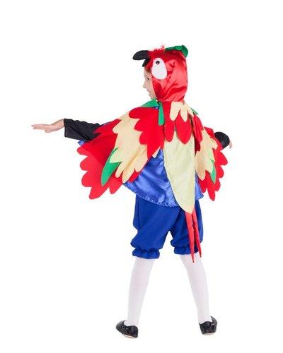 Magicoo Papegaaiencape kinderen