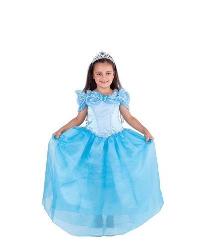 Magicoo Blauwe prinsessenjurk Assepoester