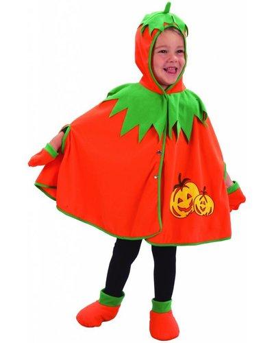 Magicoo Halloween pompoen kostuum meisje 92-104
