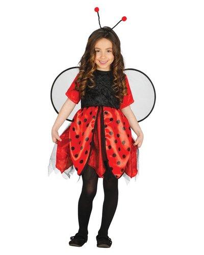 Magicoo Lieveheersbeestje kostuum voor meisjes