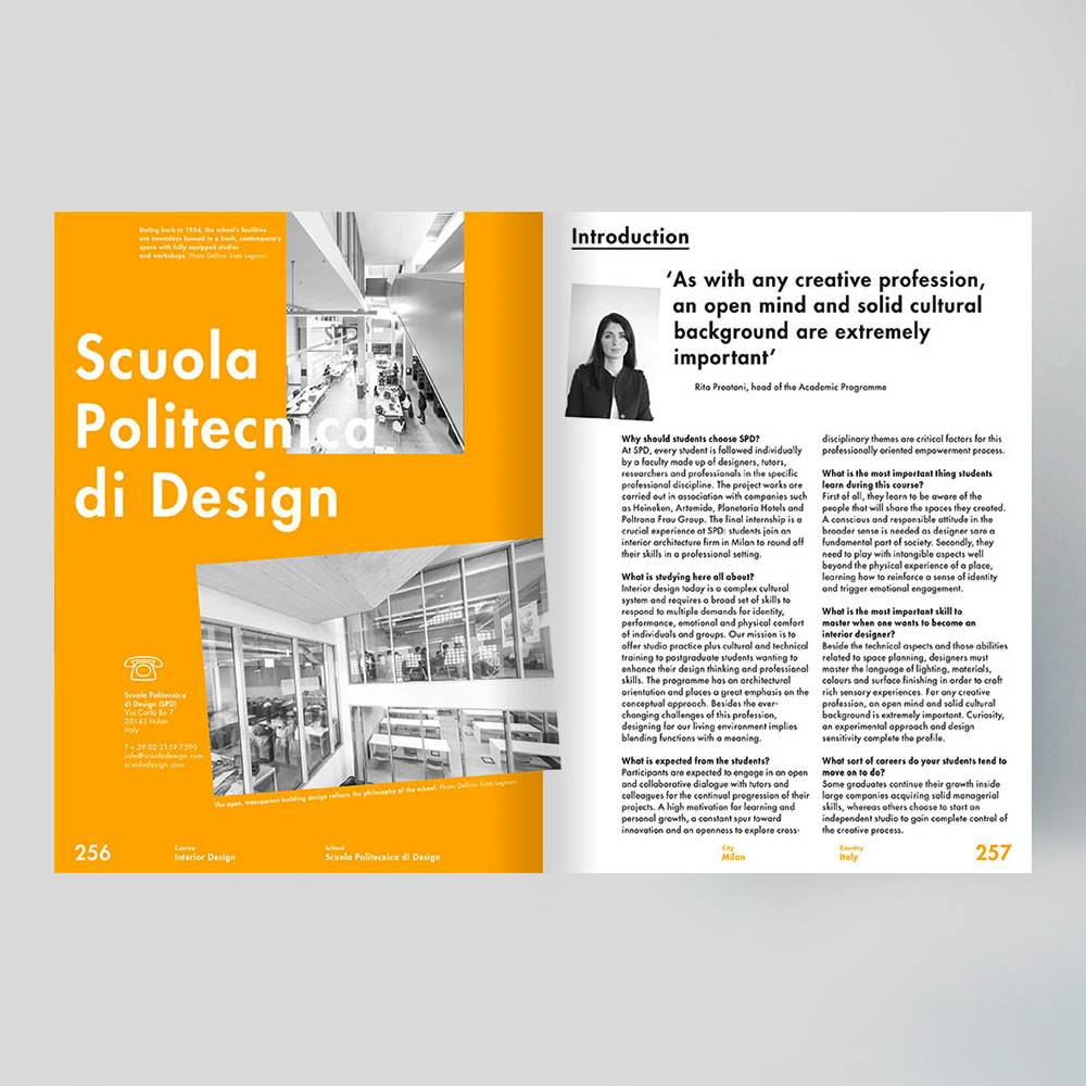 Masterclass Interior Design: Guide To The Worldu0027s Leading Graduate Schools