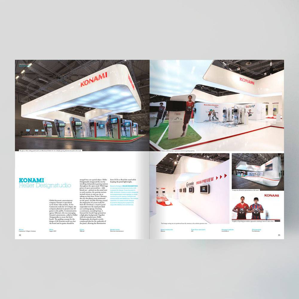 Exhibition Stand Frame : Grand stand 3: design for trade fair stands frame store