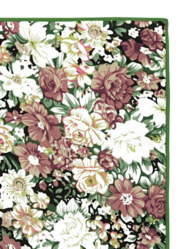 Cotton Pocket Squares - Floral