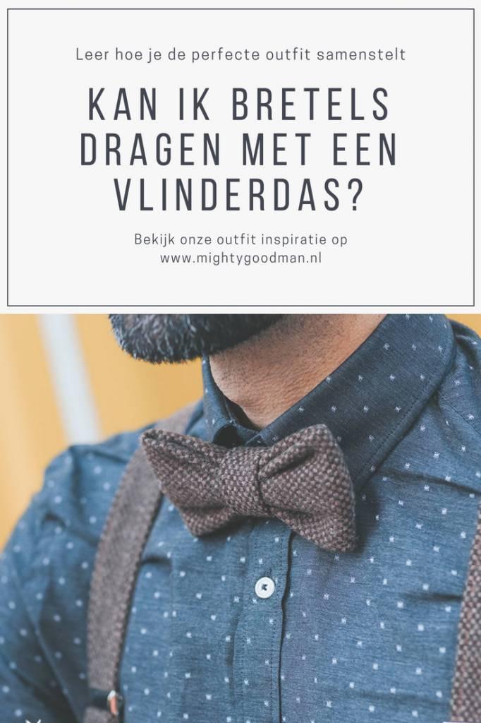 Kan ik bretels dragen met een vlinderdas? Onze outfit inspiratie