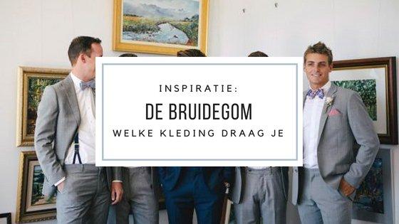 Inspiratie: kleding voor de bruidegom